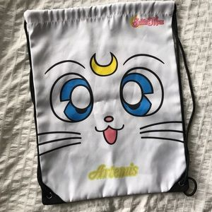 Handbags - Sailor Moon | Artemis Drawstring Bag